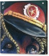 Colonel Nose Knows Close-up Acrylic Print