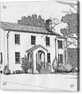 Colonel Quarters 2 - Fort Benning Ga Acrylic Print