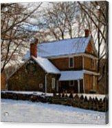 Colonial Christmas Acrylic Print