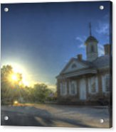Colonial Courthouse  Acrylic Print