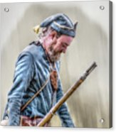 Colonial French Soldier  Acrylic Print