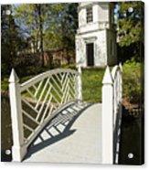 Colonial Garden Acrylic Print