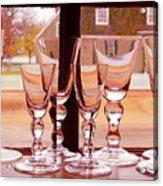 Colonial Glassware Acrylic Print