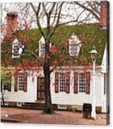 Colonial House Acrylic Print