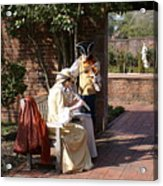Colonial Music At Tryon Palace Acrylic Print