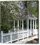 Colonial Springtime Acrylic Print