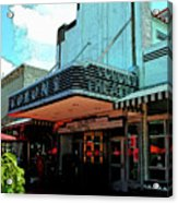 Colony Theatre Acrylic Print