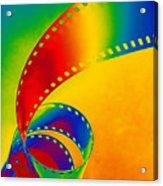 Color 35mm Strip Acrylic Print