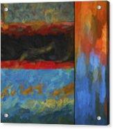 Color Abstraction Li  Acrylic Print