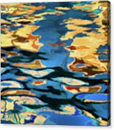 Color Abstraction Lxix Acrylic Print