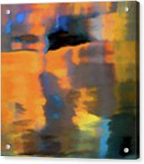 Color Abstraction Lxxii Acrylic Print