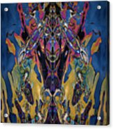 Color Abstraction Xxi Acrylic Print