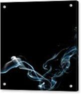 Color And Smoke Vi Acrylic Print