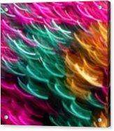 Color Curls Acrylic Print