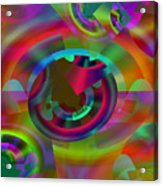 Color Dome Acrylic Print