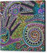 Color Fantasy Acrylic Print