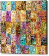 Color Fields Acrylic Print