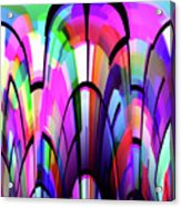 Color Gates Acrylic Print