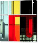 Color Grid 1 Acrylic Print