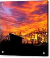 Color In The Sky Acrylic Print