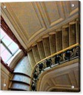 Color Interior Stairs  Acrylic Print