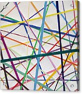Color Lines Variety Acrylic Print