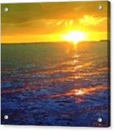 Color Me A Tropic Sunset Acrylic Print