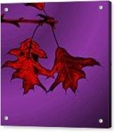 Color Me Autumn Acrylic Print