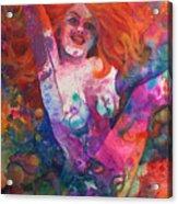 Color Me Mardi Gras Acrylic Print