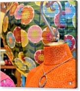 Color Me Orange Acrylic Print
