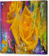 Color Me With Love Acrylic Print
