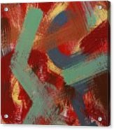 Color # 1-30 Acrylic Print