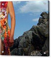 Color Nude 024 Acrylic Print