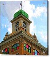 Color Of City Hall Acrylic Print