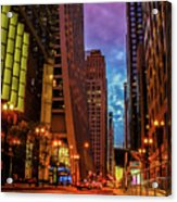Color Of Night Acrylic Print