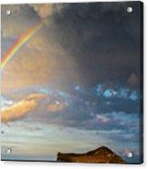 Color Of The Rain Acrylic Print