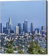 Color Pano Los Angeles California  Acrylic Print