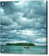 Color Play Before Storm Acrylic Print