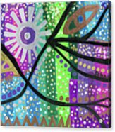 Color Rumble Acrylic Print