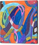Color Rush Acrylic Print