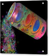 Color Spill Acrylic Print