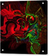 Color Splat Acrylic Print