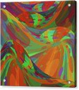 Color Swells Acrylic Print
