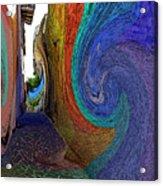 Color Undertow Acrylic Print