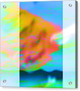 Color Wave Acrylic Print