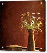 Color Wild Garden Acrylic Print