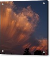 Painting With Clouds, Part 4 Acrylic Print