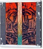Color25 Monoprint Acrylic Print