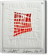 Color41 Monoprint Acrylic Print