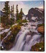 Colorado Cascading Waters Acrylic Print